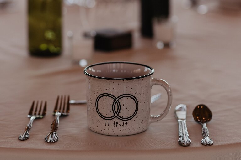 Unique Ideas for Mountain Wedding Favors Mugs