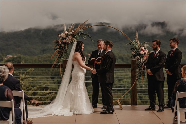 Rainy Day Wedding at The Magnolia Venue Photographed by Magnolia + Ember