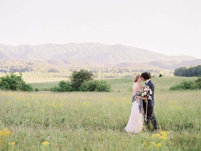 Cades Cove Elopement in The Great Smoky Mountains