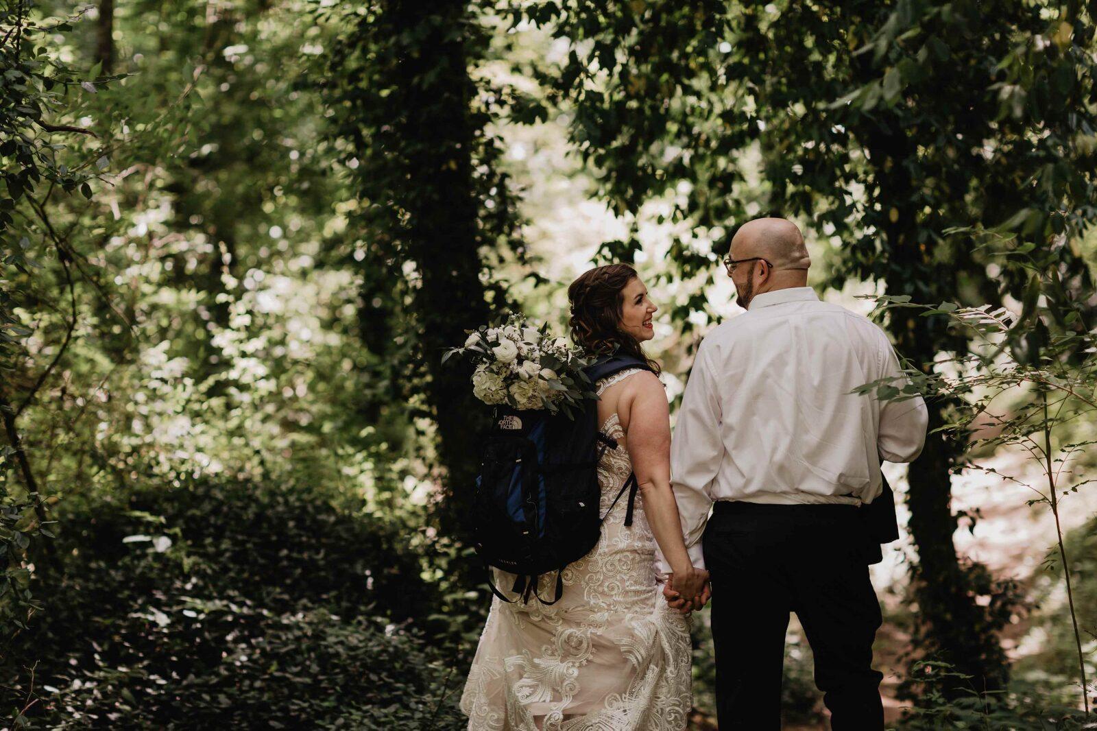 Magnolia + Ember Adventure Elopement Photographer